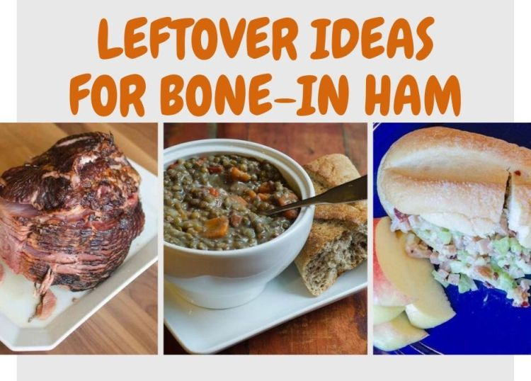 Turn leftover ham into both soup and sandwiches