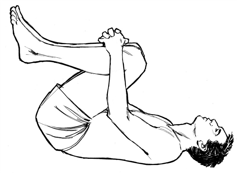 Yoga for stretching back muscles