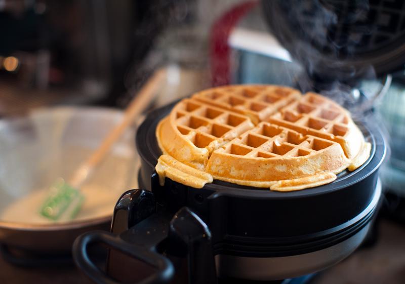 Image result for making waffles