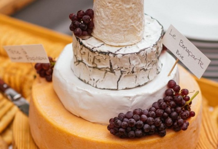 How To Build A Tiered Cheese Wheel Cake Simple Bites