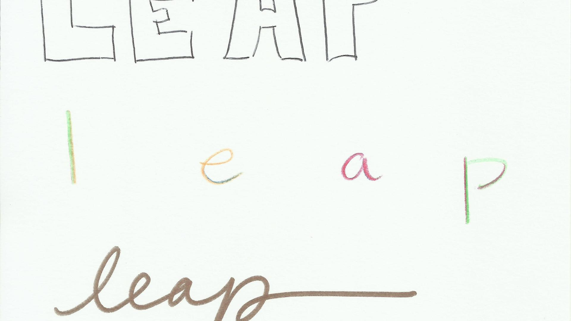 """My """"One Little Word"""" for 2016 is…LEAP!!"""