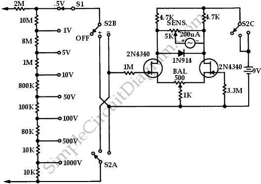 jfet pierce crystal oscillator circuit schematic diagram