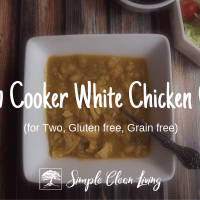 Slow Cooker White Chicken Chili (Recipes for Two)