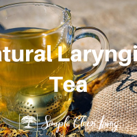 Natural Laryngitis Tea