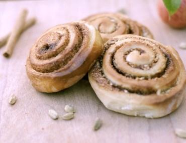 Cinnamon rolls – Danish pastry
