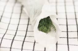 Preserving fresh herbs in the fridge