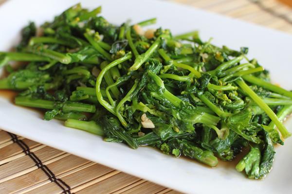 Yu Choy - Chinese Greens Recipe
