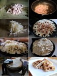 How to make Ham and Cheese Waffles