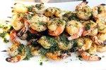 Grilled Shrimp with Cilantro Pesto Recipe