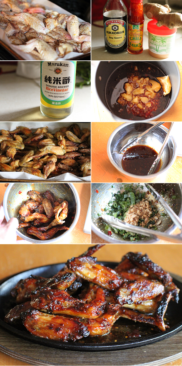 How to make Thai sticky chicken wings