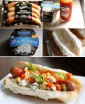 How to make buffalo chicken hot dogs