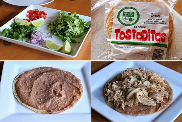 How to make a Chicken Tostadas