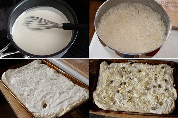 Cauliflower and Olive Pizza