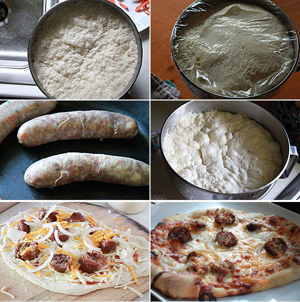 How to make a Habanero Cheddar Brat Pizza