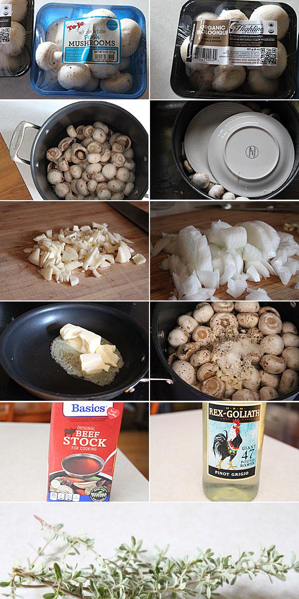 How to make Renaissance Faire Style Mushrooms