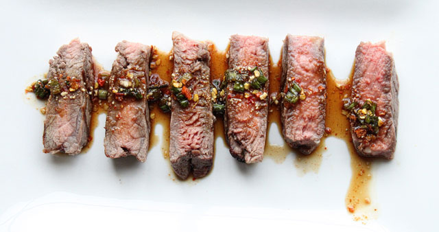 Nam Jim Jaew with Grilled Beef