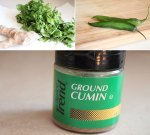 Cilantro Chutney Ingredients