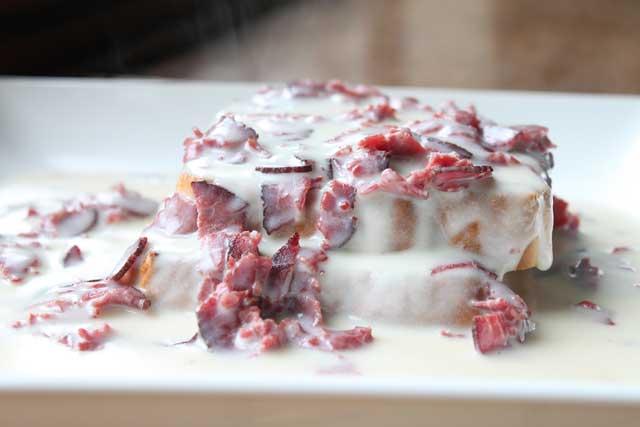 Creamed Chip Beef on Toast Recipe