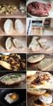 Steak and Potato Hash Sandwich Ingredients