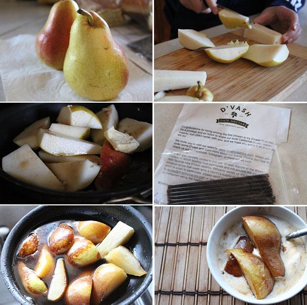 D'Vash Roasted Pears
