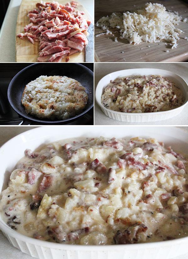 Ham, Cheese, and Potato Casserole Recipe