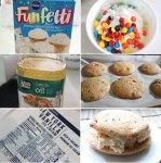 Ice Cream Cake Sandwiches Ingredients