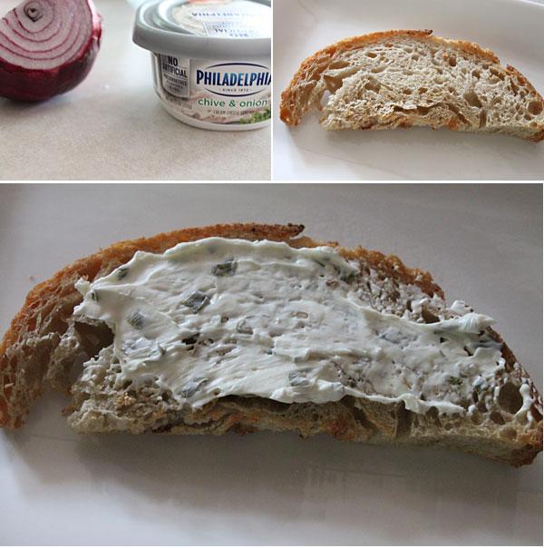 Salmon Crostini Ingredients