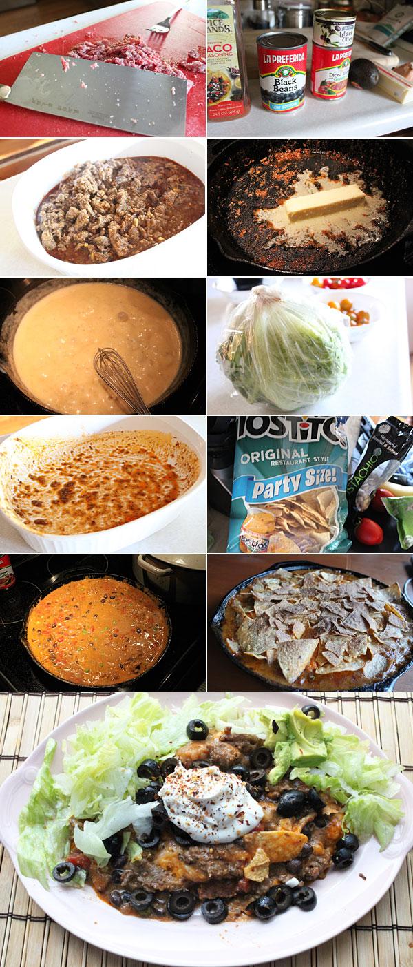 Nacho Pot Pie Ingredients