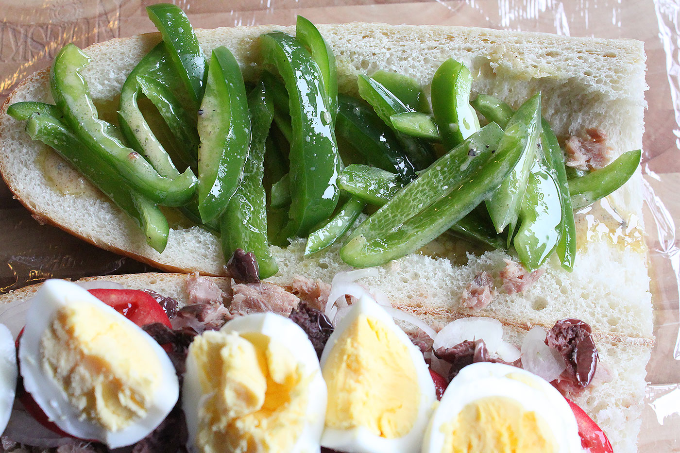 Pan Bagnat Sandwich