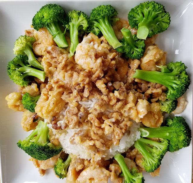 Chinese Walnut Shrimp