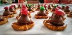 Christmas Cookies - Pretzel and Hershey Kiss Bites
