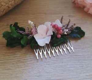 Peigne fleurs stabilisées