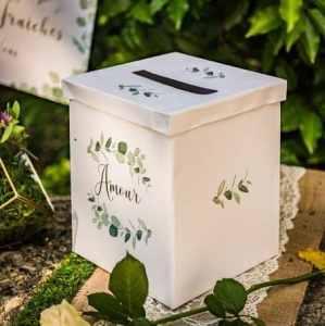 urne boite eucalyptus