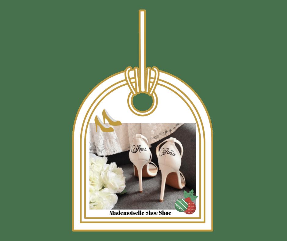 cadeau noel mariage mademoiselle shoeshoe