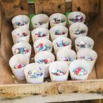 DIY cornet confettis mariage