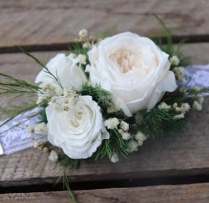 bracelet fleurs stabilisées Ayana Floral design