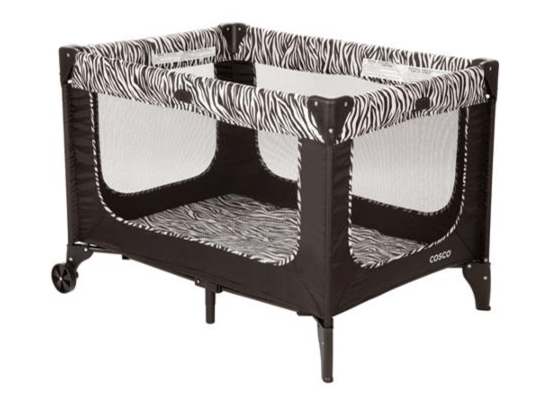 zebra high chair corner chairs for sale cosco flat fold 29 free store pickup simple coupon playard