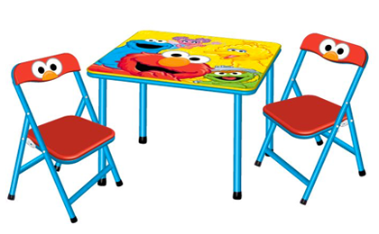 elmo table and chairs folding chair with side sesame street activity set 29 orig 50 simple