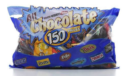 HOT 150ct Assorted Chocolate Candy Bag 099 at Costco