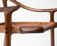 Sam Maloof Chair Joint by whalenwoodworking   SimpleCove
