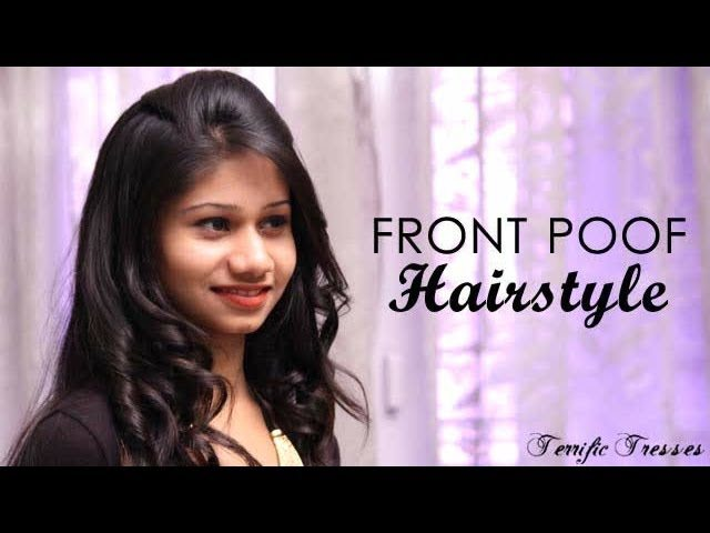 Natural Way To Make Hair Puff Style With Rubber Band At Home