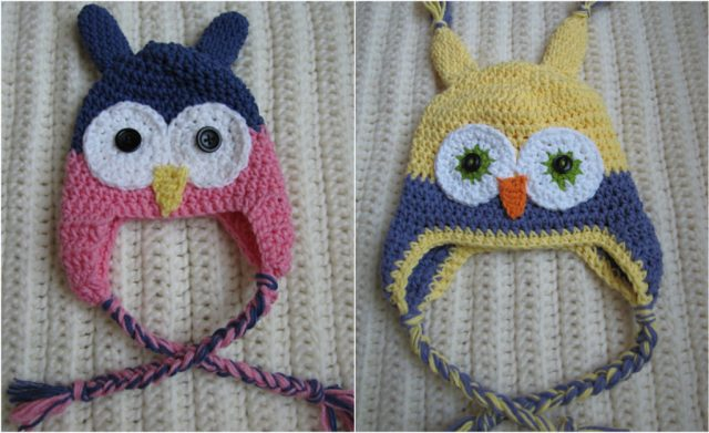 Easy Crochet Toddler Owl Hat Free Pattern Custom Free Owl Hat Knitting Pattern
