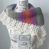 [Free Pattern] Simple Crochet Harvest Shawl