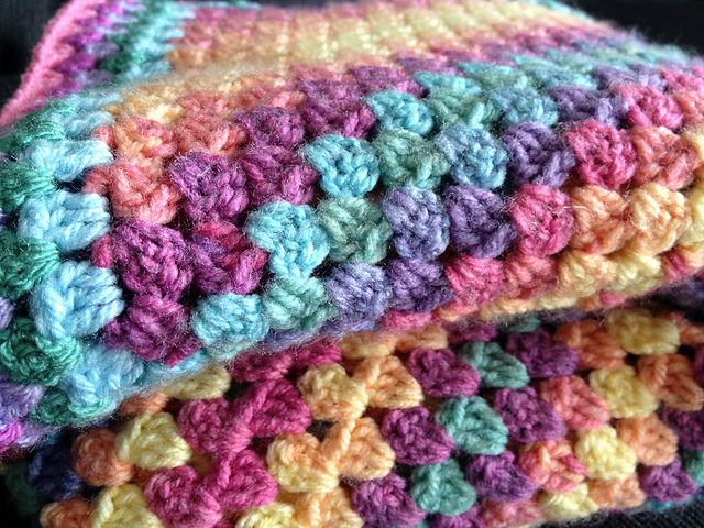 Easy Square Corner To Corner Granny Blanket Video Tutorial