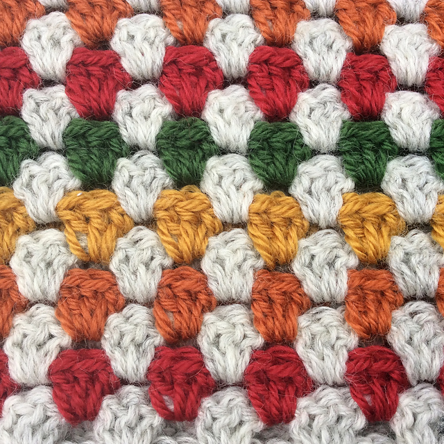 Free Pattern How To Crochet Super Granny Scarf