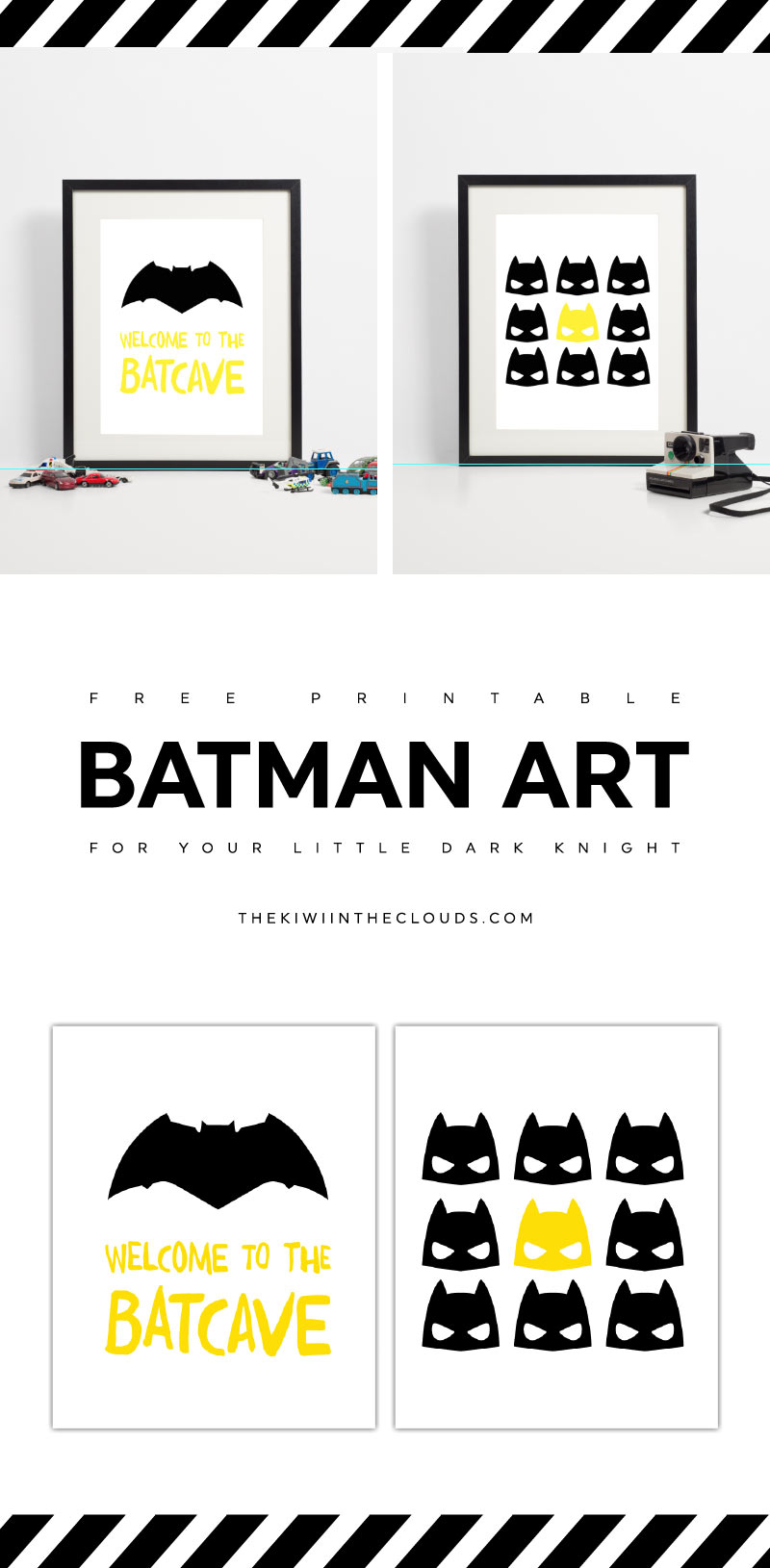 Two Awesome Free Batman Printables Every Little Boy Needs