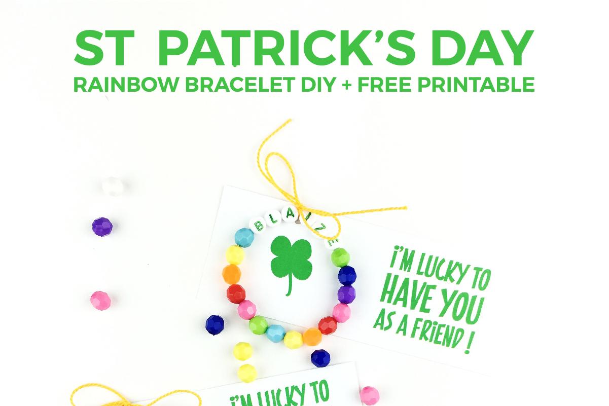 St Patrick S Day Free Printable Craft