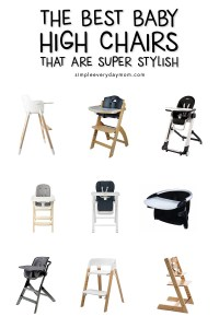 The 9 Best Baby High Chairs From Amazon That Are Stylish ...
