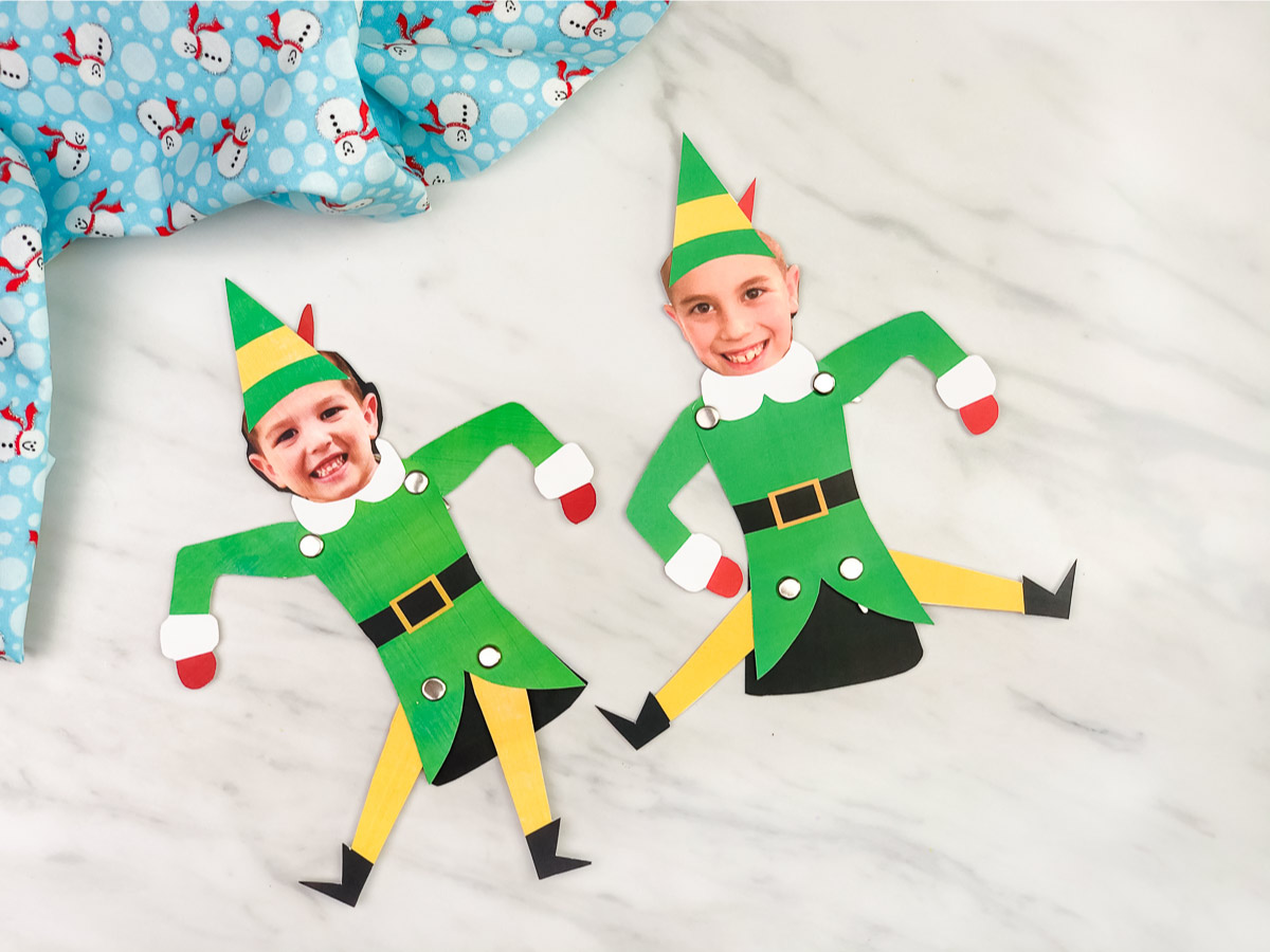 Free Printable Buddy The Elf Craft For Kids