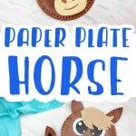 Paper Plate Horse Craft
